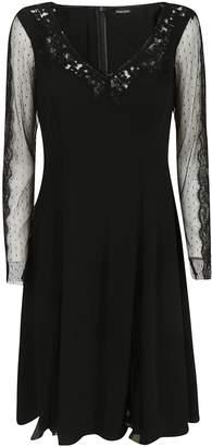 Ermanno Scervino Lace Detailed Dress