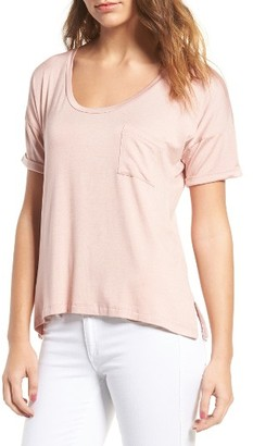 Women's Amour Vert Paxton Pocket Tee $58 thestylecure.com