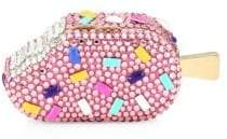 Judith Leiber Couture Couture Women's Strawberry Sprinkle Popsicle Pillbox - Champagne