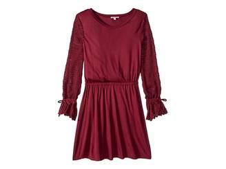 Ella Moss Sweater Sleeve Dress (Big Kids)