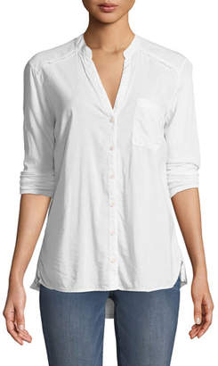 Splendid The New Famous Long-Sleeve Button-Front Shirt