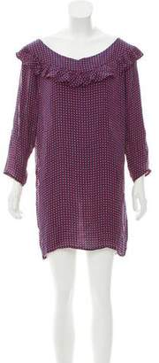 Joie Polka Dot Printed Shift Dress