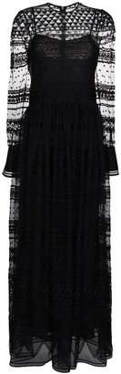Philosophy di Lorenzo Serafini Geometric lace maxi dress