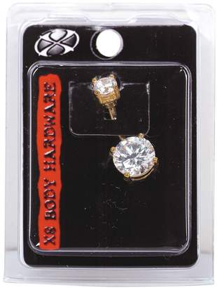 Pacific Piercing Supply Gold Plated 14G Navel Dangle