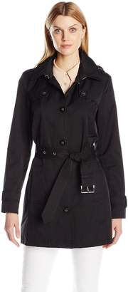 Tommy Hilfiger Women's Single Breasted Trench Coat