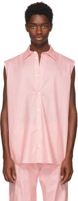 Anton Belinskiy Pink Sleeveless Shirt