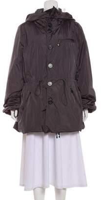 Moncler Serina Reversible Down Coat