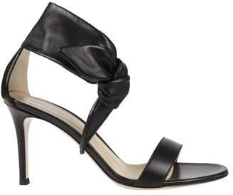 Gianvito Rossi Wide Strap Sandals
