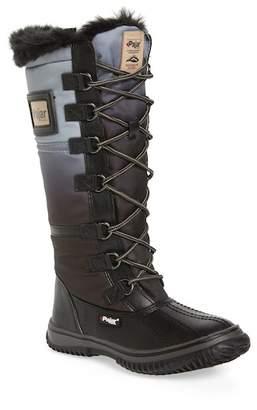 Pajar Gia Waterproof Faux Fur Lined Boot (Little Kid & Big Kid)