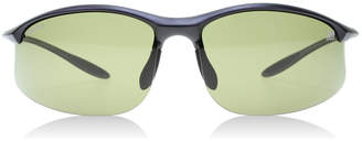 Serengeti Maestrale Sunglasses Satin Black 8476 Polariserade 65mm