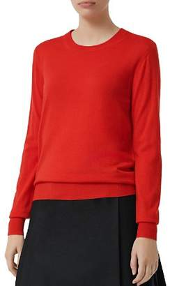 Burberry Bempton Elbow Patch Sweater