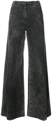 ADAM by Adam Lippes acid wash palazzo jeans