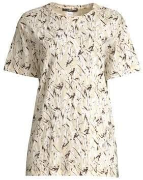 Derek Lam Abstract Long Sleeve Tee