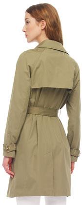 MICHAEL Michael Kors Zip-Pocket Trenchcoat