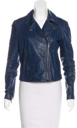 Theory Elenian Leather Jacket w/ Tags