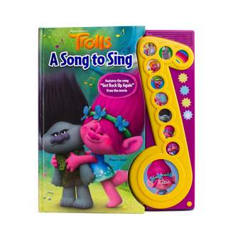 """Dreamworks Trolls """"A Song to Sing"""" Play-a-Sound Book"""
