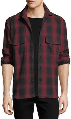 Marcelo Burlon County of Milan Iamens Check Flannel Shirt
