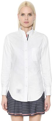 Logo Oxford Cotton Shirt $425 thestylecure.com