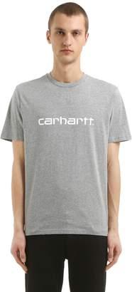 Carhartt Logo Printed Cotton Jersey T-Shirt