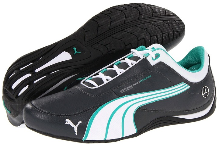 Puma Drift Cat 4 Mercedes-Benz AMG Petronas (Dark Shadow/White/Arcadia) - Footwear