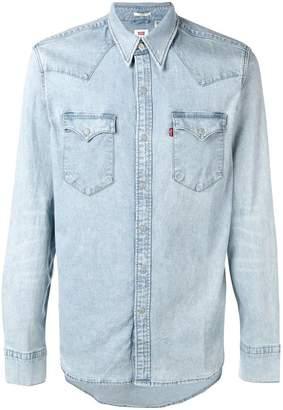39c98fb5c78f Mens Levi Denim Shirt - ShopStyle