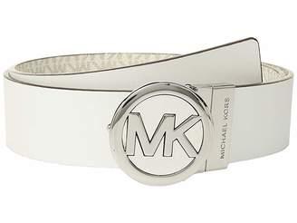 MICHAEL Michael Kors Smooth Leather Reversible Belt