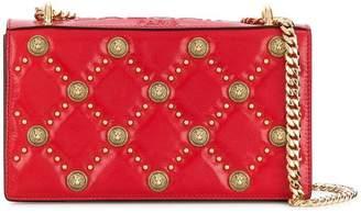 Balmain Love Lion button-embellished crossbody bag
