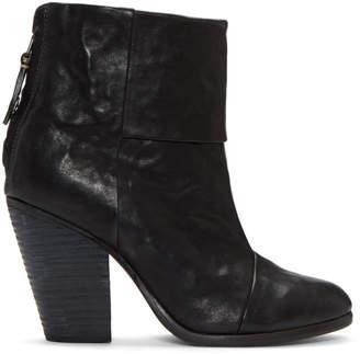 Rag & Bone Black Classic Newbury Boots