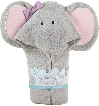 Kate Aspen Baby Aspen Splish Splash Elephant Bath Spa Hooded Towel