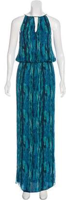Ramy Brook Silk Sleeveless Maxi Dress