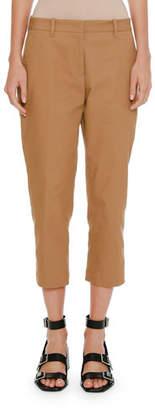 Jil Sander Slim-Fit Straight-Leg Cropped Pants