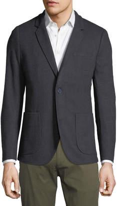 Civil Society Men's Sampson Herringbone-Textured Cozy-Knit Blazer