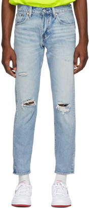 Levi's Levis Blue Hi-Ball Roll Jeans