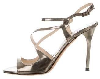 Jimmy Choo Metallic Lang Sandals
