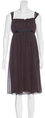Vera Wang Sleeveless Midi Dress $95 thestylecure.com