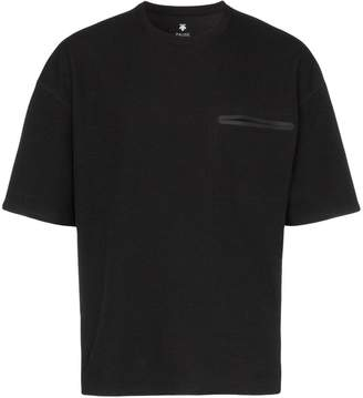 Descente Allterrain boxy fit knitted T-shirt