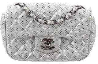 085328d6402 Chanel Perforated Classic New Mini Single Flap Bag