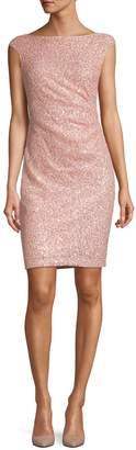 Vince Camuto Sequin Sleeveless Bodycon Dress