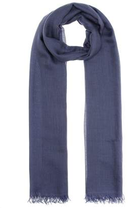 Brunello Cucinelli Cashmere and silk-blend scarf