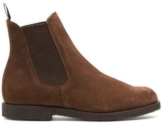 Sanders Snuff Suede Chelsea Boots