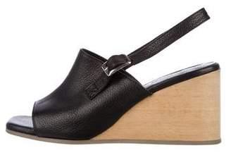Rachel Comey Leather Slingback Wedges