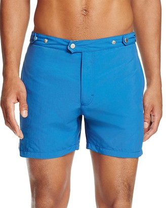 Solid & Striped Kennedy Solid Swim Trunks $158 thestylecure.com