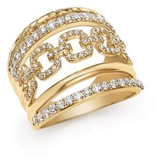 Bloomingdale's Diamond Wide Statement Ring in 14K Yellow Gold, 1.0 ct. t.w. - 100% Exclusive