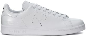 Adidas Sneaker For Raf Simons Stan Smith In White Leather $268 thestylecure.com