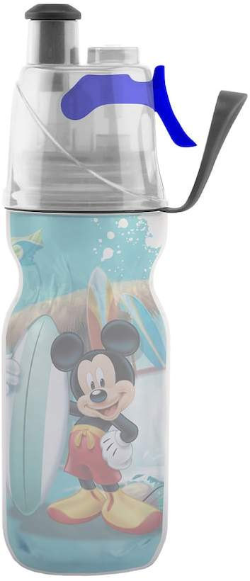 O2COOL ArcticSqueeze Mist 'N Sip Disney's Mickey Mouse 12-oz. Insulated Squeeze Water Bottle