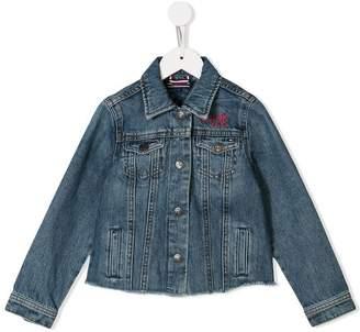 Tommy Hilfiger Junior embroidered denim jacket