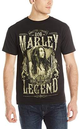 Zion Rootswear Men's Bob Marley Legend Rebel T Shirt