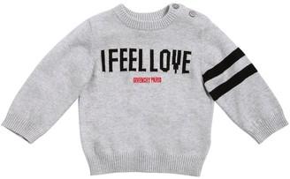 Givenchy Cotton & Cashmere Blend Knit Sweater