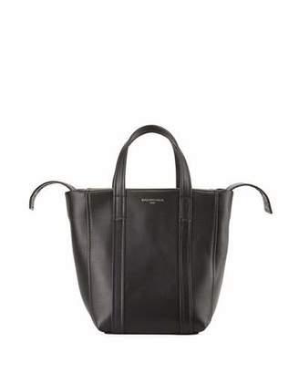 Balenciaga Laundry Cabas Extra Small Leather Tote Bag