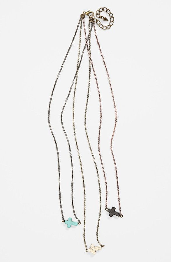 Stephan & Co Cross Necklace (Online Only)